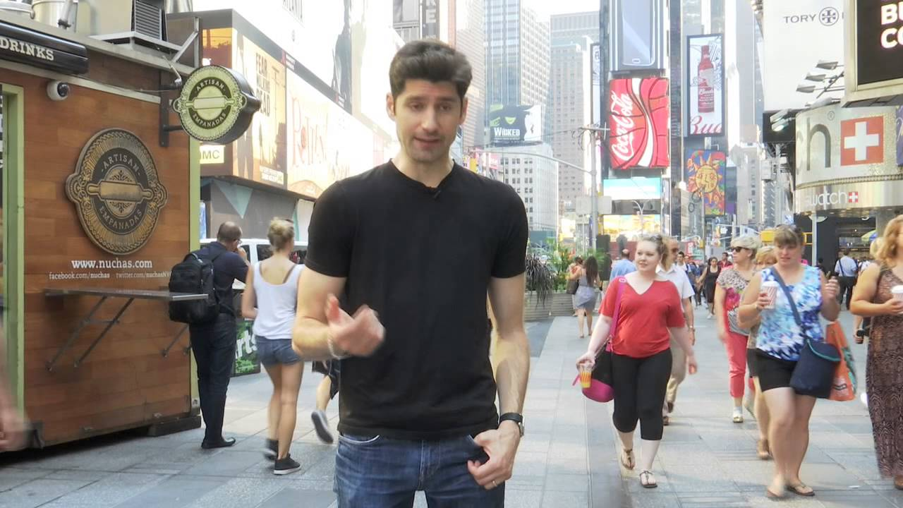 Ben Aaron Gets Naked And Painted In Times Square - Youtube-3947