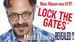 """Lock the gates""  : Marc Maron WTF title music quote"