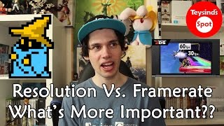 Resolution Vs. Framerate - What's More Important To You?