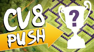 CLASH OF CLANS | LAYOUT CV 8 PUSH - TH 8 PUSH LAYOUT - DidiGPX
