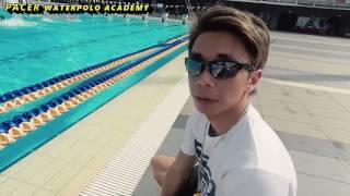 Sunday U16 training with Yip Yang at Pacer waterpolo academy