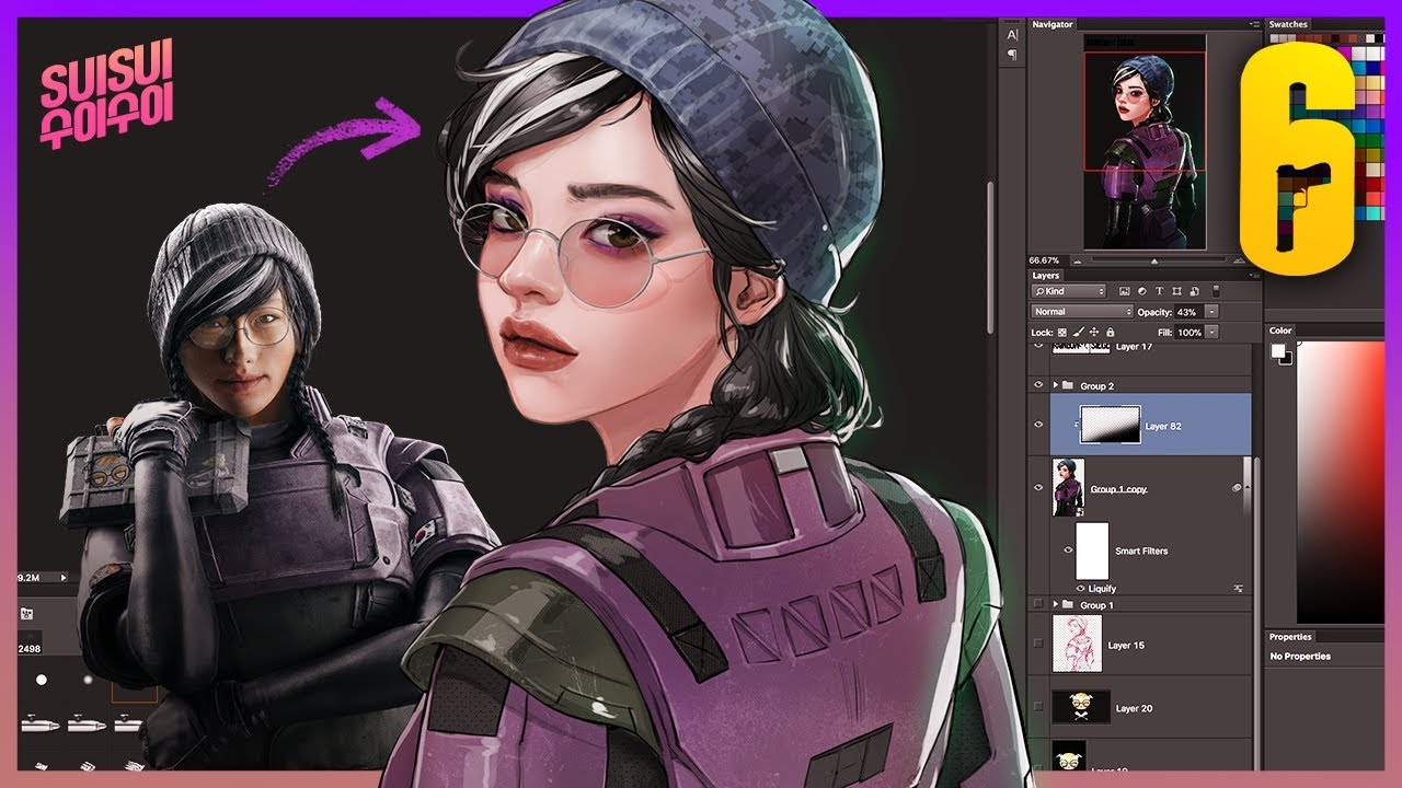 How Do I Think About Dokkaebi In R6 Wallpaper Engine Speedpaint