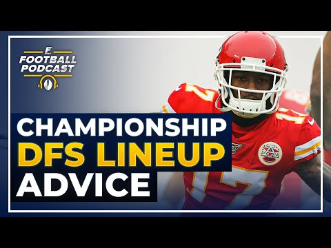 DFS Playoffs Lineup Advice: AFC + NFC Conference Championships (2020 Fantasy Football)