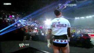 CM Punk Return with new Theme Song RAW 7/25/11