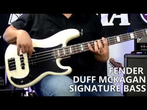 Fender Duff McKagan Signature P-Bass – Tonecheck!