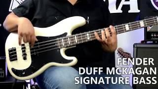 Fender Duff McKagan Signature P-Bass - Tonecheck!
