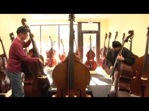 Upton Bass: 2013 ISB - Harvie S and John Adams Bass Duet!