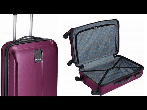 Safari Thorium 4 wheels Hard Suitcase Revire | User review