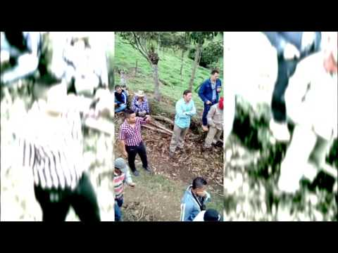 Campesinos impiden el paso de funcionarios de AngloGold Ashanti a Palocabildo, Jericó