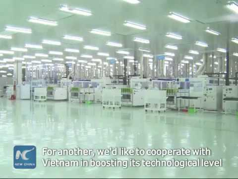 Vietnam's largest solar panel factory opens with Chinese investment