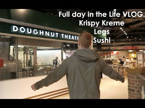 Day In The Life: Birmingham, Sushi, Krispy Kreme And Emporium Gym