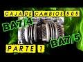PARTE 1 - Caja de cambios PEUGEOT BA7/4 y BA7/5 - Reparación y explicación!! - Fontanadrift cap.52