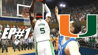 SO IT BEGINS - NCAA BASKETBALL 10 DYNASTY EP 1