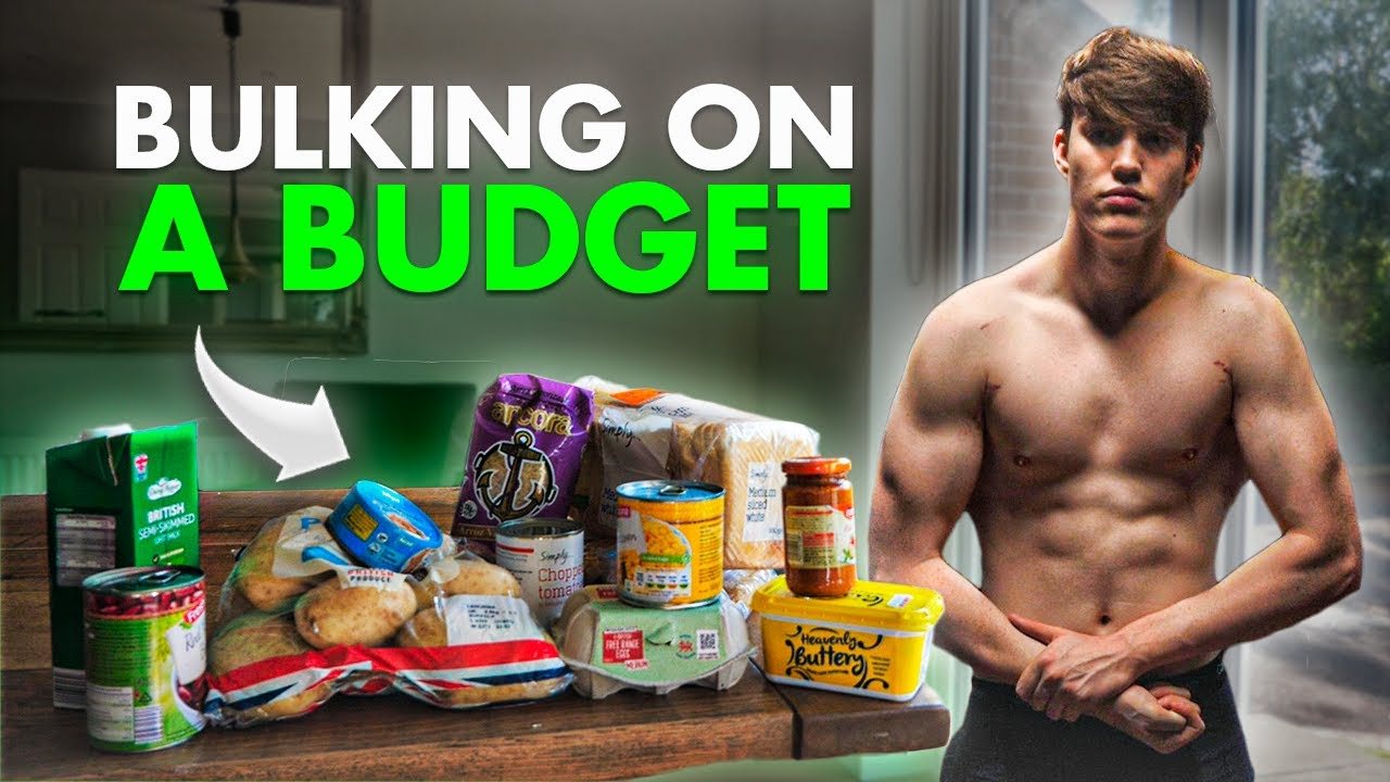 How To Bulk For Only £3 A Day (3500 Calories) | Budget Bulking Plan