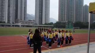 2014 屯門官立小學 運動會 啦啦隊表演  陳絜潼 & 袁智澄