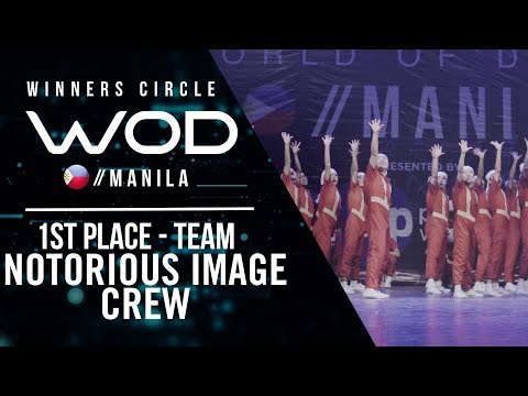 Nitrous Image Crew | 1st Place Team | Winners Circle | World of Dance Manila Qualifier 2018