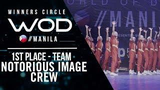 Nitrous Image Crew | 1st Place Team | Winners Circle | World of Dance Manila Qualifier 2018