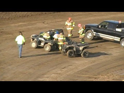 Kory Crabtree Waynesfiled Motor Sports Park hot laps crash