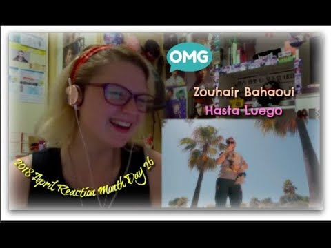 2018 Reaction Month Day 26: Zouhair Bahaoui: Hasta Luego