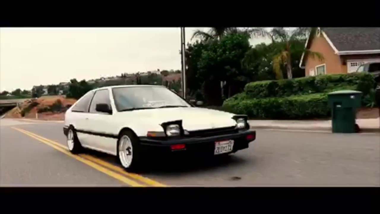 Slammed 88 Honda Accord - YouTube