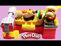 Play Doh Cookout Creations PLAY-DOH FOOD BURGERS HOT DOGS Barbeque Grill Playset Playdoh Review