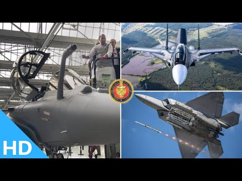 Indian Defence Updates : IAF Receives 1st Rafale,Irbis on Super Sukhoi,Ejector Launch Astra For AMCA