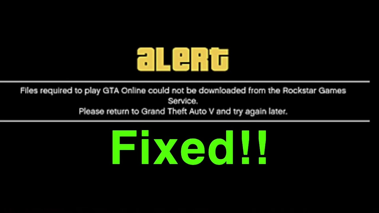 files required to play gta online pc