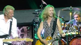 """Blue Collar Man"" Styx & Don Felder@Susquehanna Bank Center Camden, NJ 7/3/14"