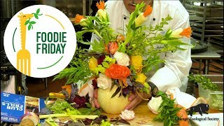 Foodie Friday: Vegetable Flower Centerpiece
