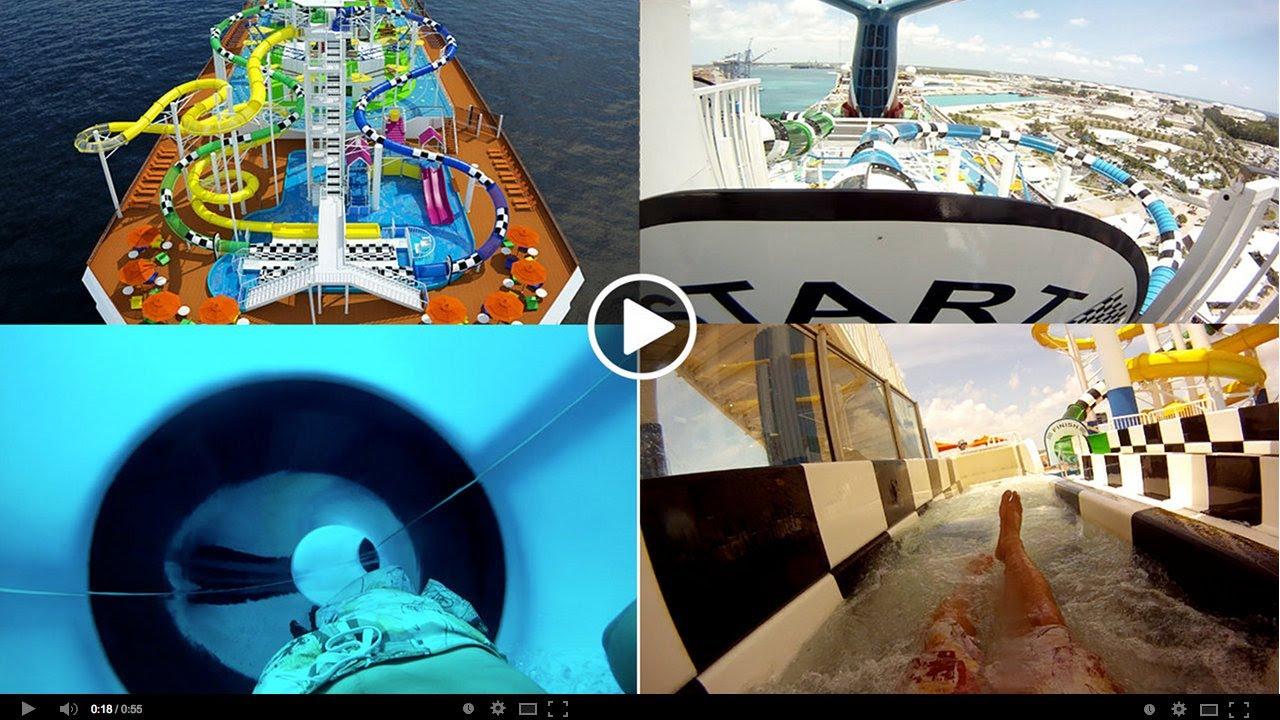 Water Slide Carnival Sunshine Water Works Gopro Youtube