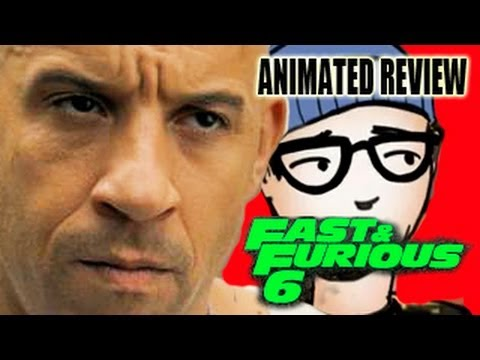 FAST & FURIOUS 6 ANIMATED REVIEW