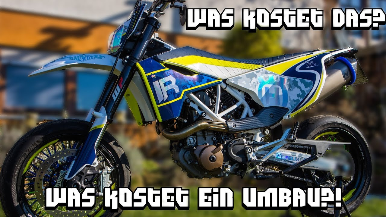 Was kostet so ein Umbau? || Husqvarna 701 || Power-Parts ...