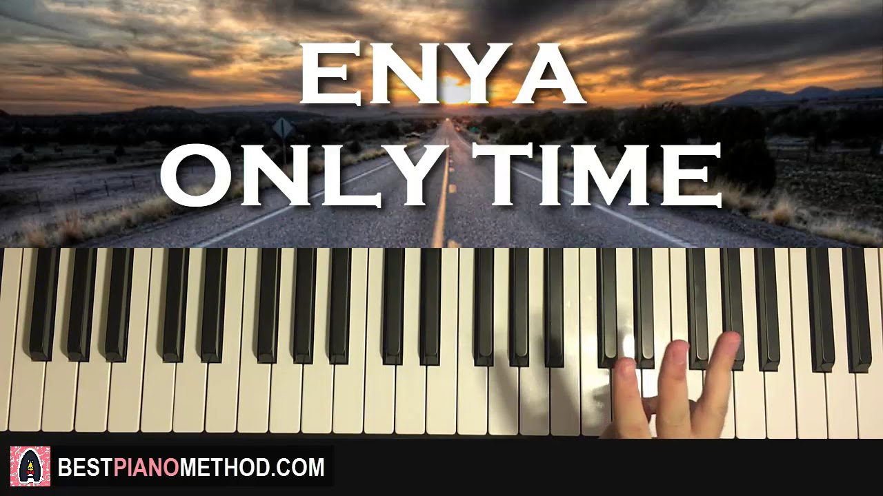How To Play Enya Only Time Piano Tutorial Lesson