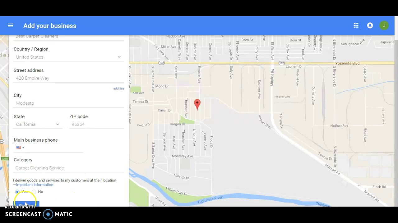 how to get a free google listing
