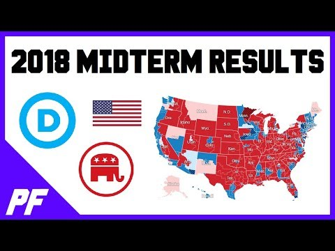 2018 Midterm Election Results - House, Senate, and Governor Voting Results - Who Won?