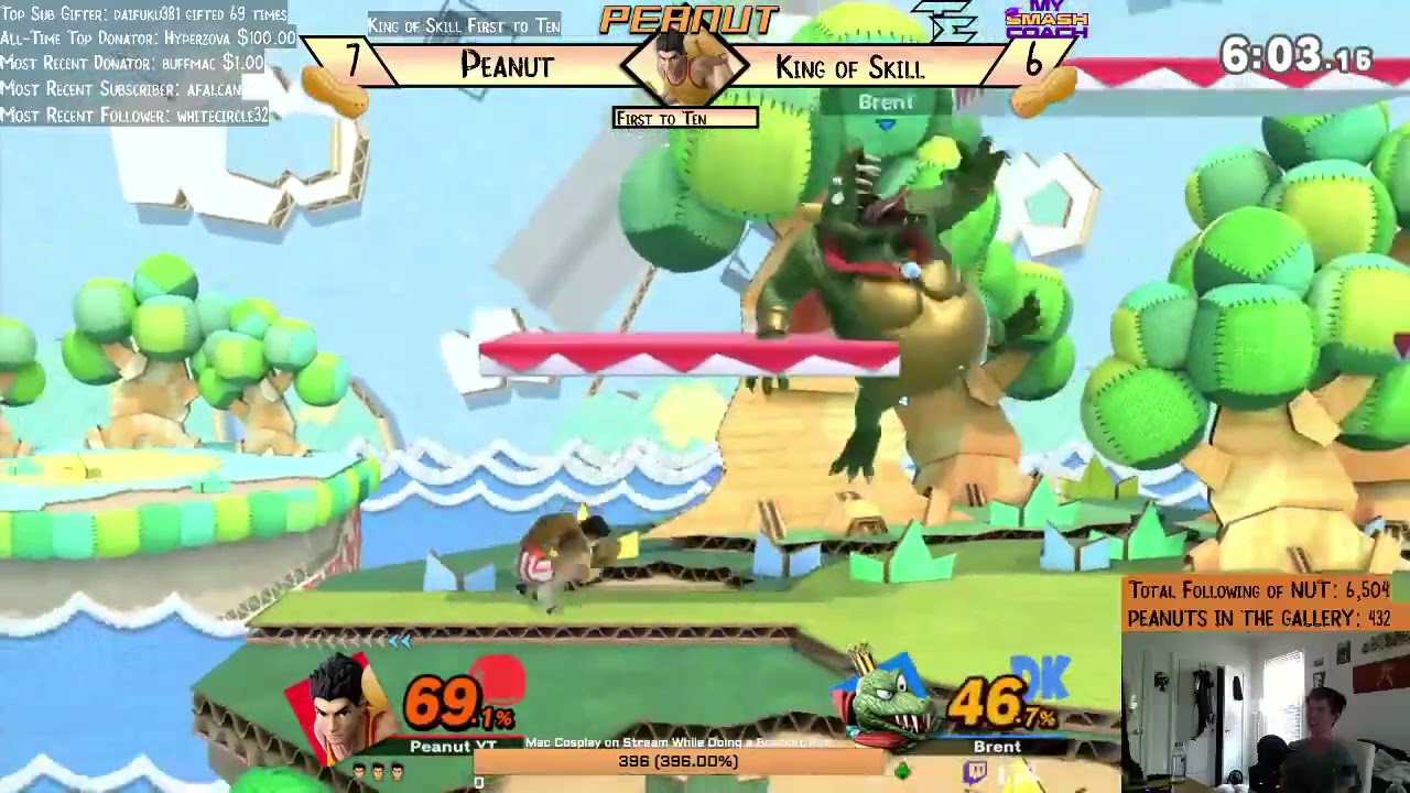 the epitome of a little mac player