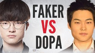 FAKER Meets DOPA In SOLO QUEUE - Who Wins? Part 2 | League of Legends Guides
