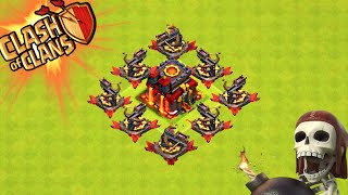 "Clash of Clans - ""X-BOW DEFENSE!"" WORLD'S GREATEST TROLL BASE? Champions League Trolling!"
