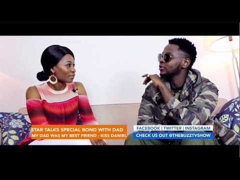 "THEBUZZTVSHOW - Kiss Daniel ""My Dad Was My Best Friend"""