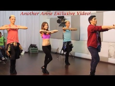 Anne Curtis ( Must see dance rehearsal)
