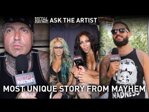 MAYHEM FEST Most Unique Experience - ASK THE ARTIST on Metal Injection
