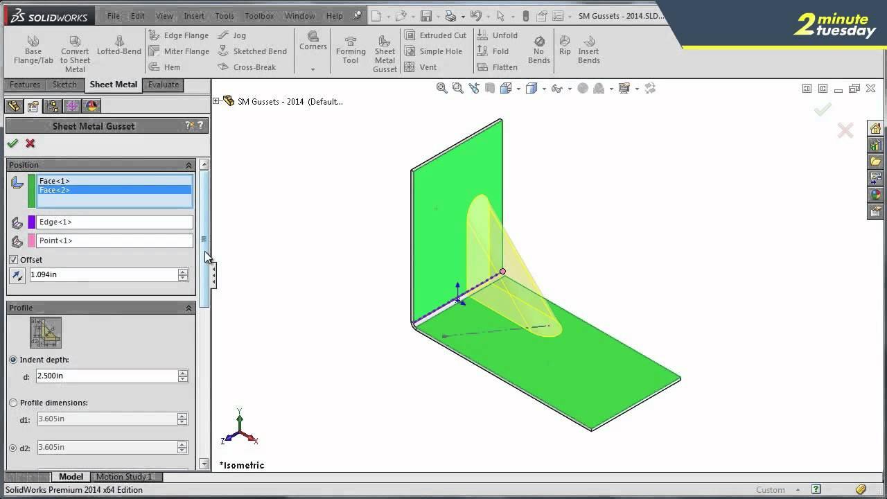 corner component