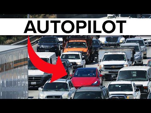 Tesla Full Self Driving vs Rush Hour Traffic in Model Y