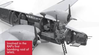 Airfix | 1:72 Vickers Wellington Render Stills