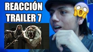 REACCIÓN: THE WALKING DEAD TEMPORADA 7  TRAILER