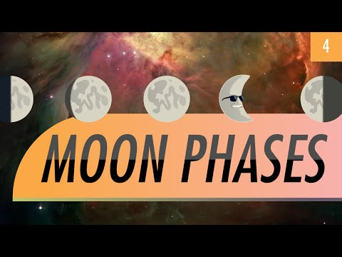 Moon Phases: Crash Course Astronomy #4
