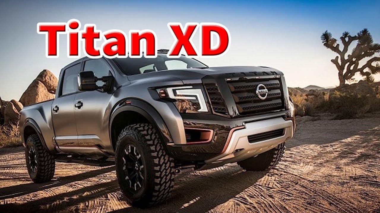 2020 nissan titan xd diesel   2020 nissan titan cummins ...