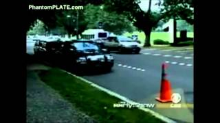 License Plate Spray Fools Traffic Cameras- CBS tests invisible license plate spray..