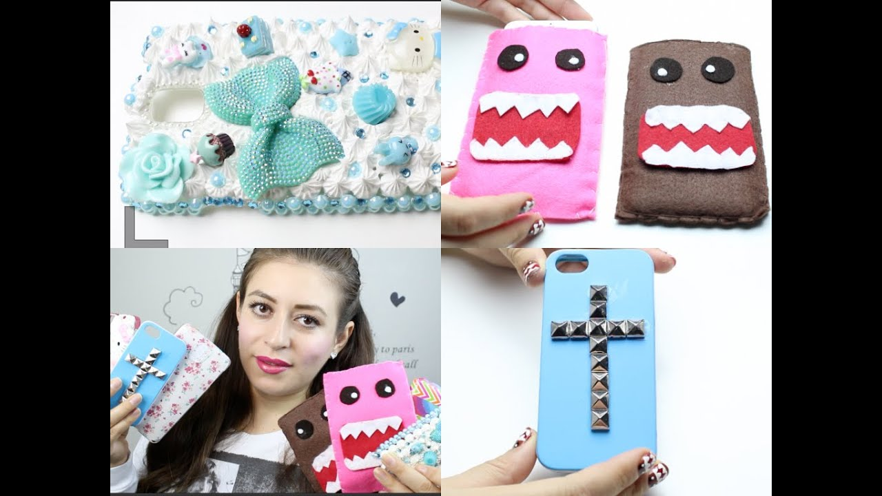 Como Decorar Una Merceria 6 Ways To Personalize Your Cell Phone Case Youtube