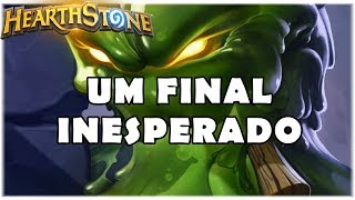 HEARTHSTONE - UM FINAL INESPERADO! (STANDARD BIG HUNTER)